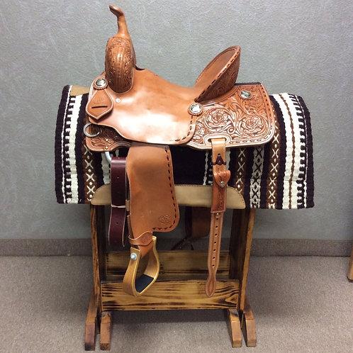 "14"" Paul Taylor Barrel Saddle (PTB-10)"