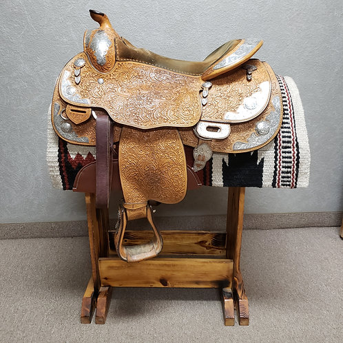 "16"" Blue Ribbon Show Saddle"