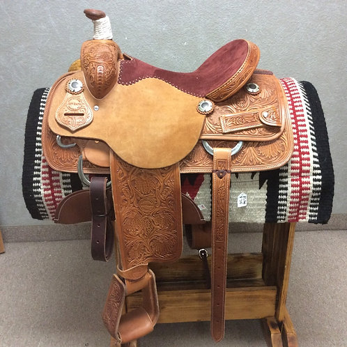 "15"" Jeff Smith Roping Saddle (RP-02)"