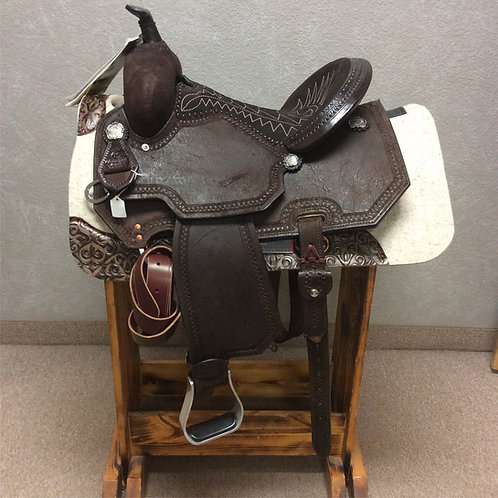 "14"" Charmayne Jame C11 Barrel Saddle (R-03)"