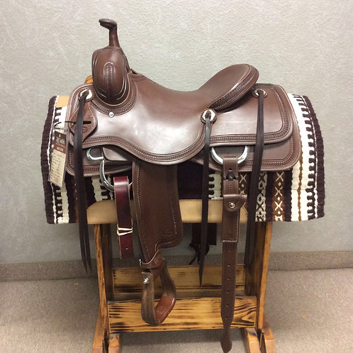"15"" Jeff Smith Ranch Cutter Saddle (RC-6705)"