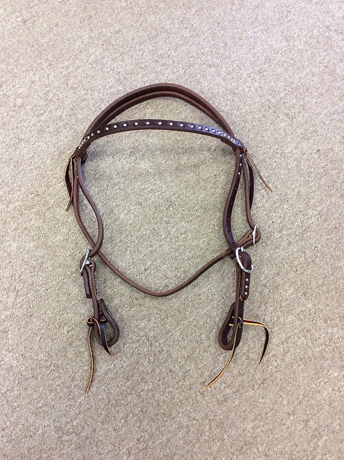 Browband with Ties