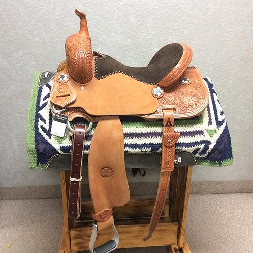 "15"" Jeff Smith Barrel Saddle (JBS-145)"
