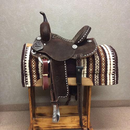 """13.5"""" Jeff Smith C3 Barrel Saddle"""
