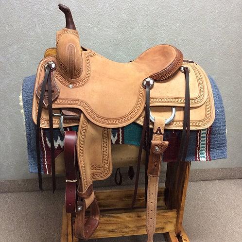 """16"""" Jeff Smith Cutting Saddle (C-406)"""