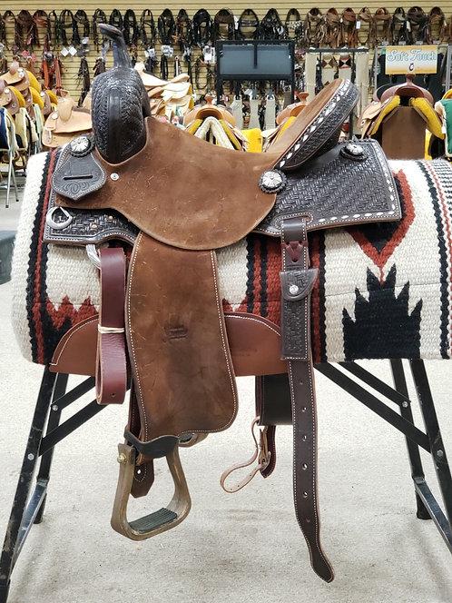 """14.5"""" Jeff Smith Xtreme Barrel Saddle (X-6906)"""