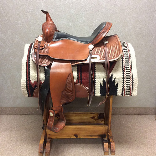 """16"""" Billy Cook Trial Saddle #1536"""