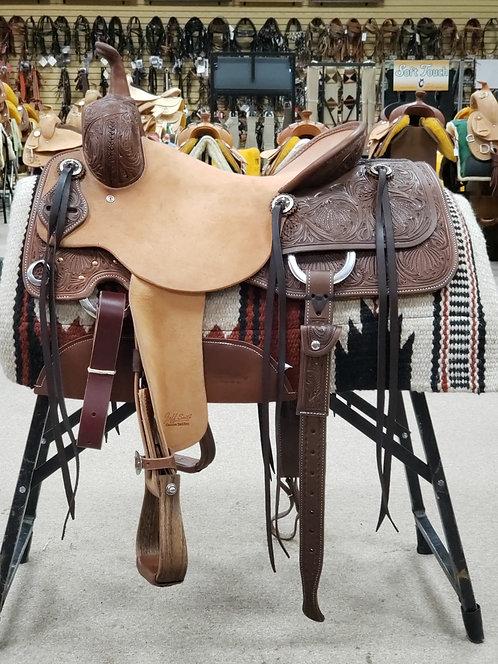 """16"""" Jeff Smith Cutting Saddle"""
