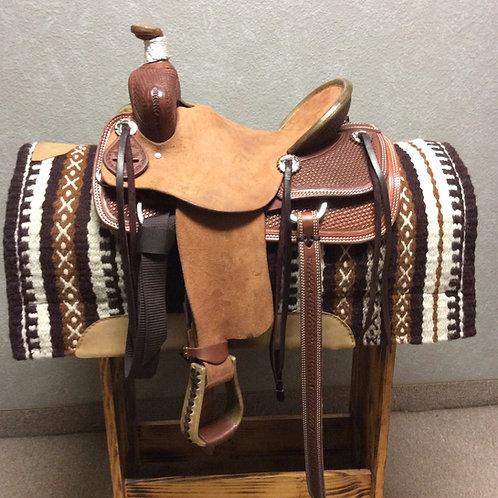 "10"" SRS Youth Ranch Saddle"