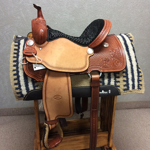 """14"""" and 15"""" Billy Cook Barrel Saddle #1550"""