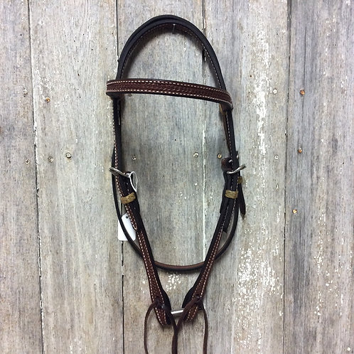 Basketweave Working Leather Headstall