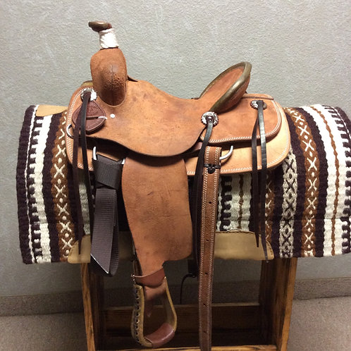 "12.5"" SRS Youth Ranch Saddle"