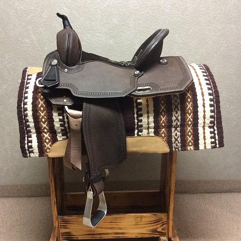 "14.5"" Circle Y High Horse Leona Barrel Saddle"