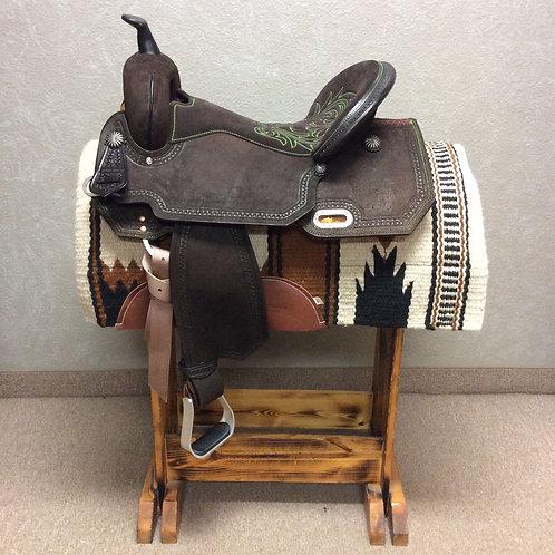 "17"" Circle Y High Horse Leona Barrel Saddle"