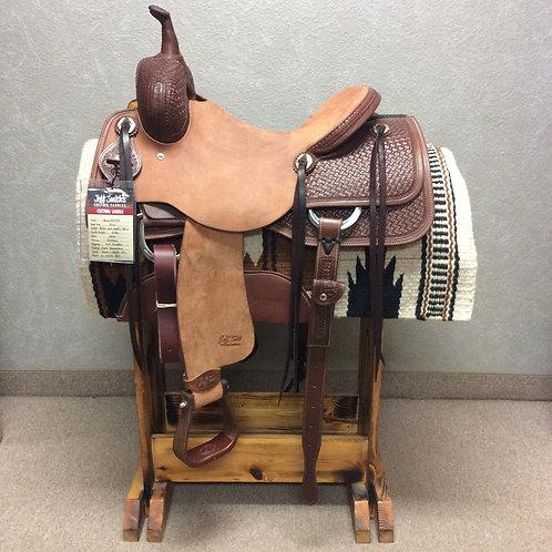 """16"""" Jeff Smith Cutting Saddle (C-445)"""