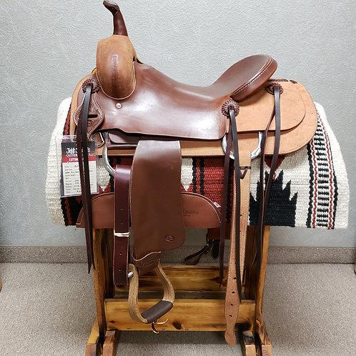 """16"""" Jeff Smith Cutting Saddle (C-6180)"""