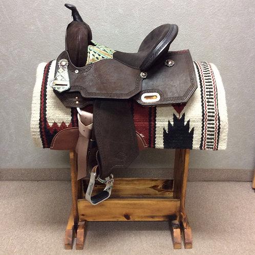 """14.5"""" Circle Y High Horse Madison Barrel Saddle"""
