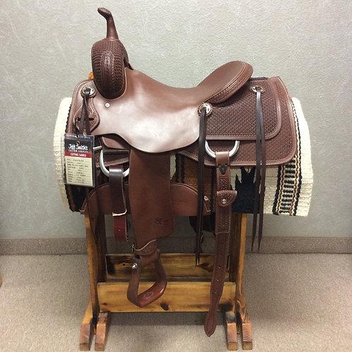 """16"""" Jeff Smith Cutting Saddle (C-001)"""