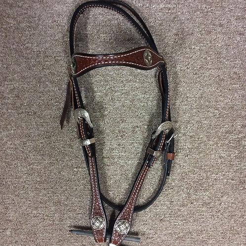 Reinsman Iron Vine Browband Headstall
