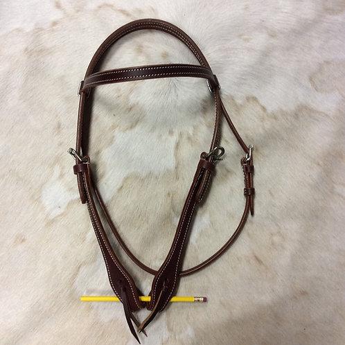 Simple Latigo Leather Headstall