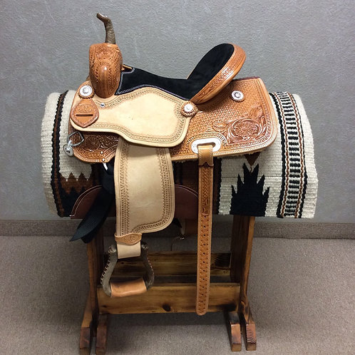 "14"" SRS Saddlery Barrel Saddle (SRSB-26)"