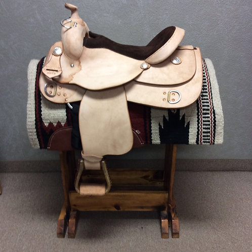 """DAMAGED DISCOUNT 16"""" 01 RS Training Saddle"""
