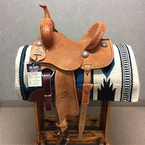 """13"""" Jeff Smith C3 Barrel Saddle (C3-5179)"""