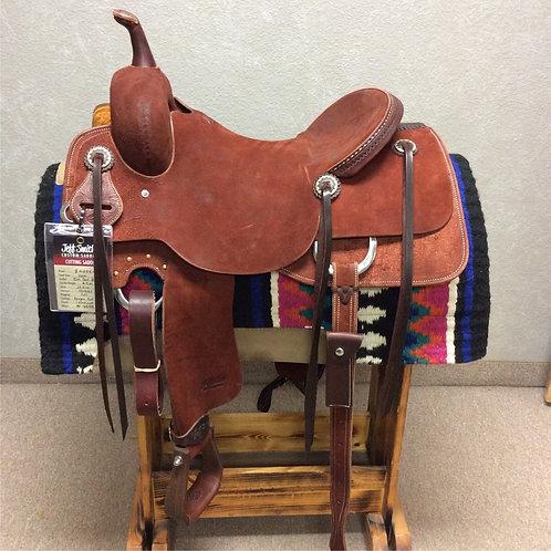 """16"""" Jeff Smith Cutting Saddle (C-073)"""