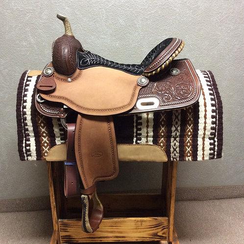 """16"""" Billy Cook Barrel Saddle #1930"""