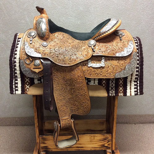 "Used 16.5"" Harris Show Saddle"