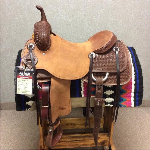 """17"""" Jeff Smith Cutting Saddle (C-062)"""
