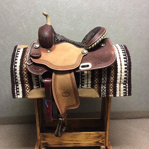 """14.5"""" Billy Cook Barrel Saddle #1907"""