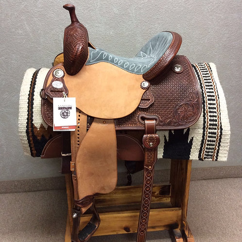 "14"" x 7.5"" Martin Stingray Barrel Saddle"