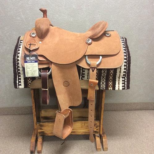 "16"" Jeff Smith Roping Saddle (RP-6610)"