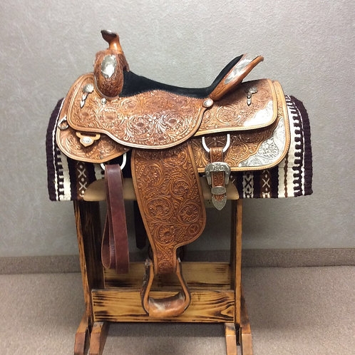 "Used 16"" Circle Y SQHB Show Saddle"