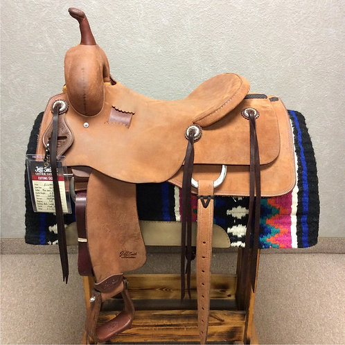 "16"" Jeff Smith Cutting Saddle (C-045)"