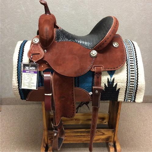 """14.5"""" Jeff Smith Xtreme Barrel Saddle (X-5032)"""