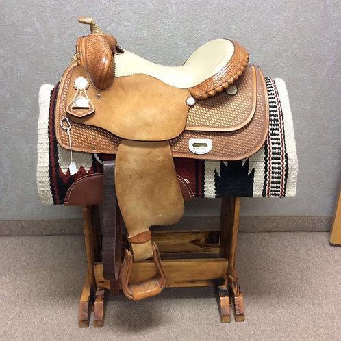 "16"" Tim McQuay Reining Saddle"