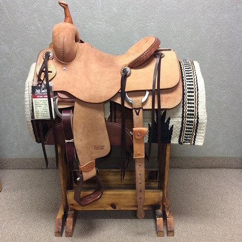 """15"""" Jeff Smith Cutting Saddle (C-456)"""