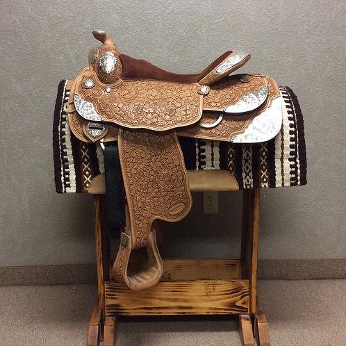 "Used 16"" Reinsman Show Saddle"
