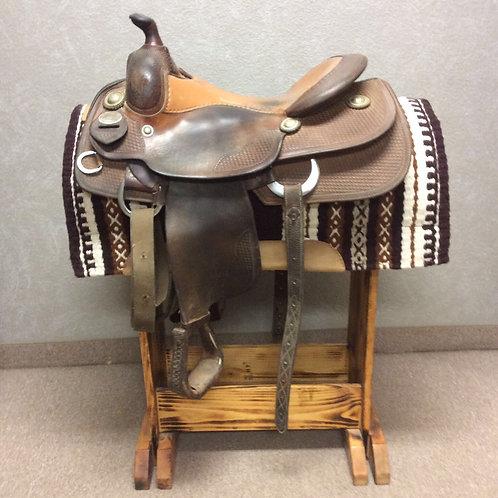 "16"" Bob's Custom Brent Wright Reining Saddle"