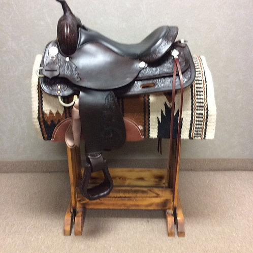 "17"" Circle Y High Horse Mineral Wells Trail Saddle"