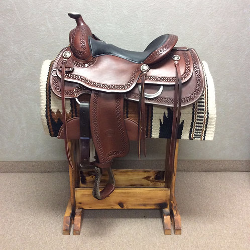 """16"""" Billy Cook Reining/Trail Saddle #6150"""