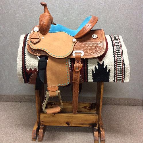 "13"" SRS Saddlery Barrel Saddle"