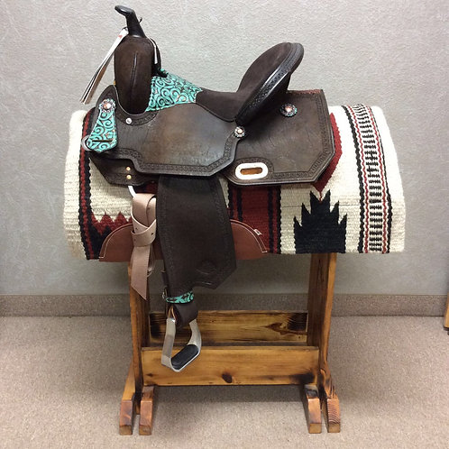"14"" Circle Y High Horse Madison Barrel Saddle"