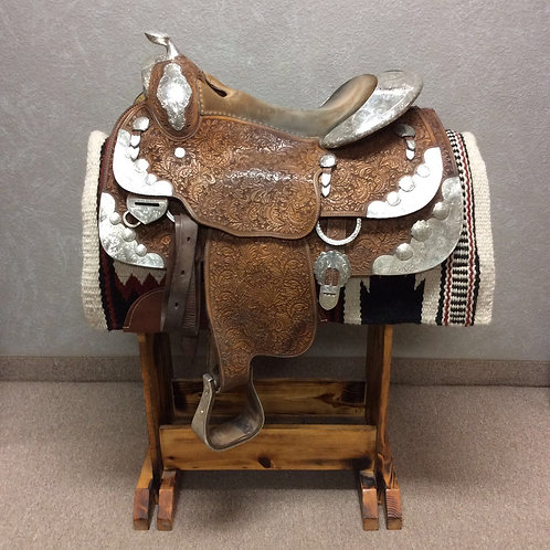 "15"" Blue Ribbon Show Saddle"