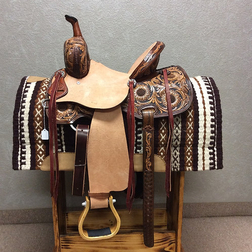 "12"" SRS Saddlery Barrel Saddle"