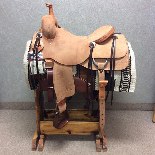 "17"" Jeff Smith Ranch Cutter Saddle (RC-455)"