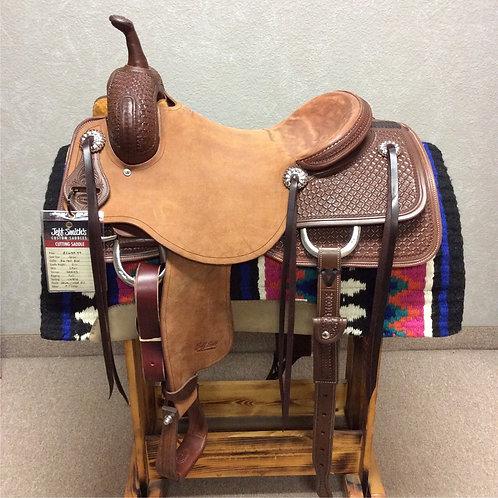 """16"""" Jeff Smith Cutting Saddle (C-047)"""