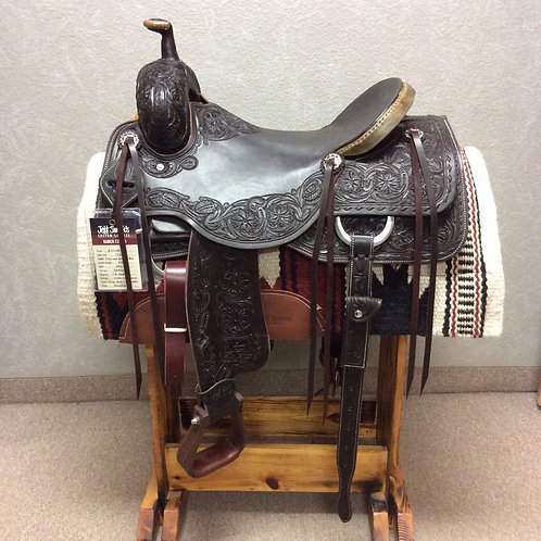 "17"" Jeff Smith Ranch Cutter Saddle (RC-6226)"